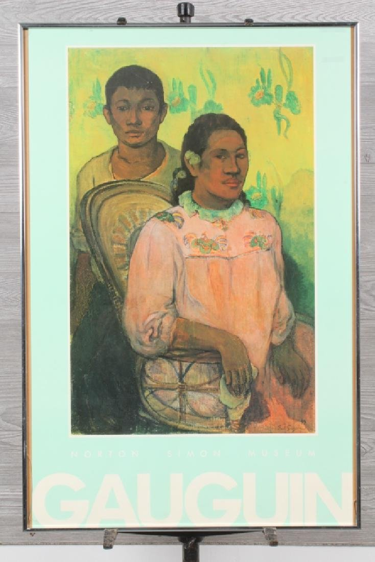 Gauguin Exhibition Poster