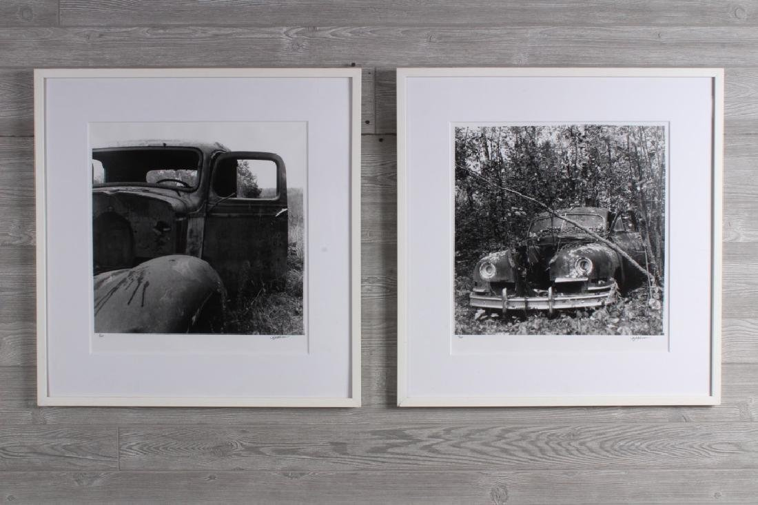 2 Joy Atchison Cars in the Weeds Photos