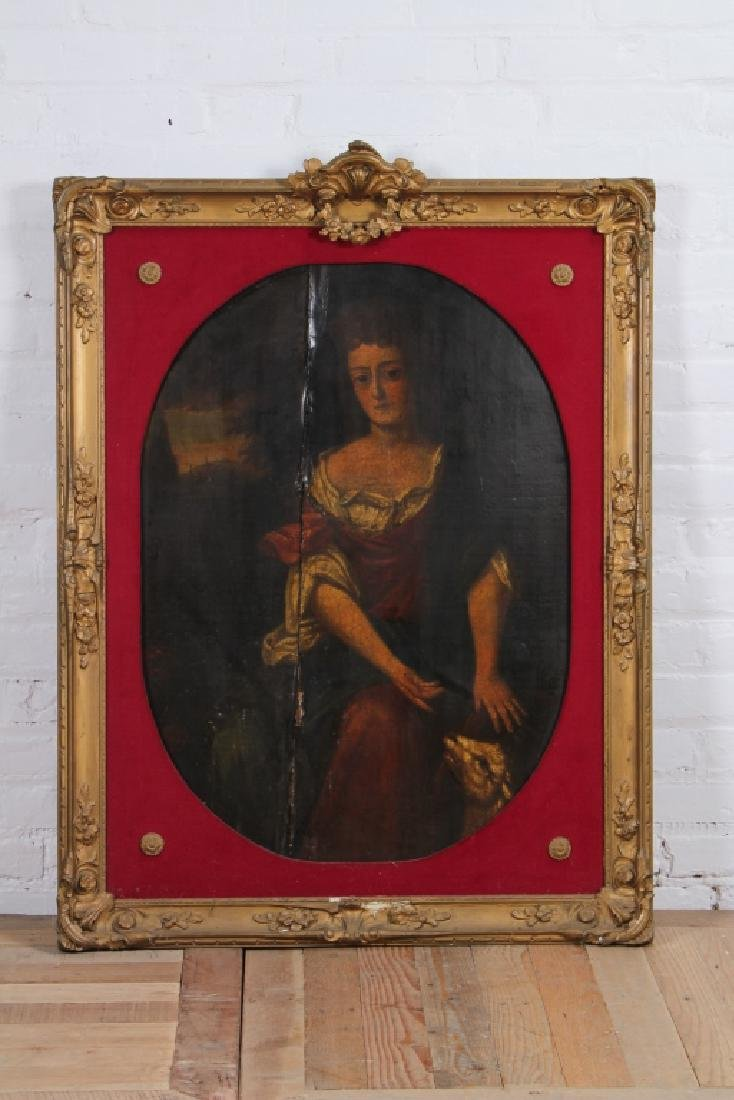 Old Masters Style Painting Allegorical Portrait