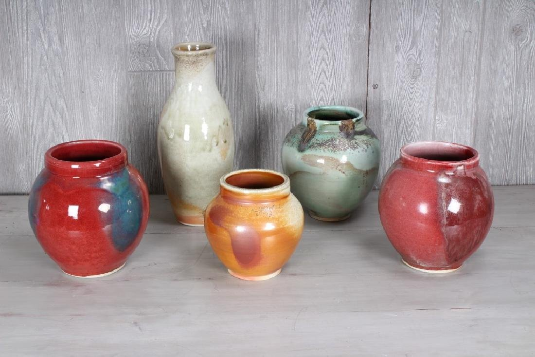 Lot of American Studio Pottery