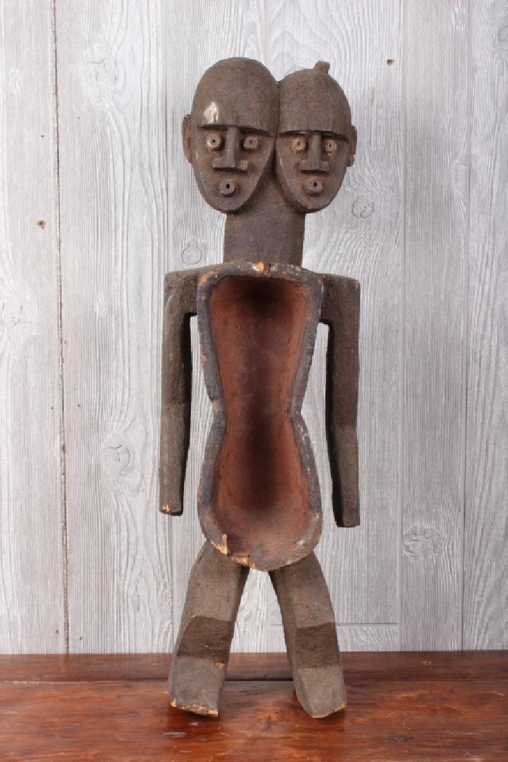 African Koro Culture Janoid Fetish