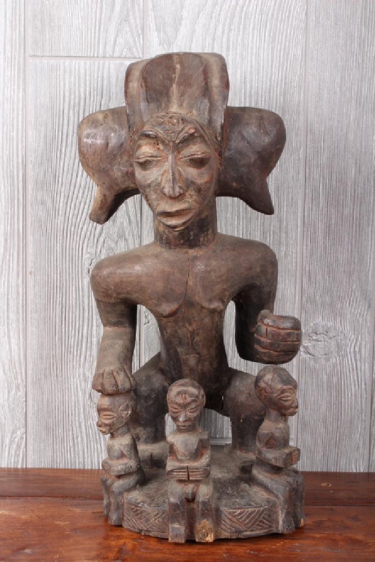 Chokwe Maternity Figure