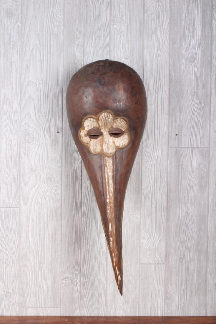 Baga Culture Bird Form Headdress