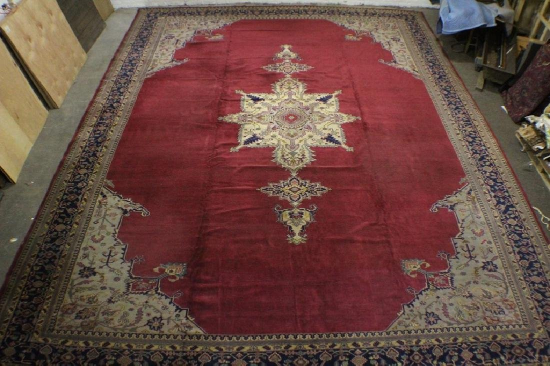 "Turkish Rug 16'7"" x 20'5"""