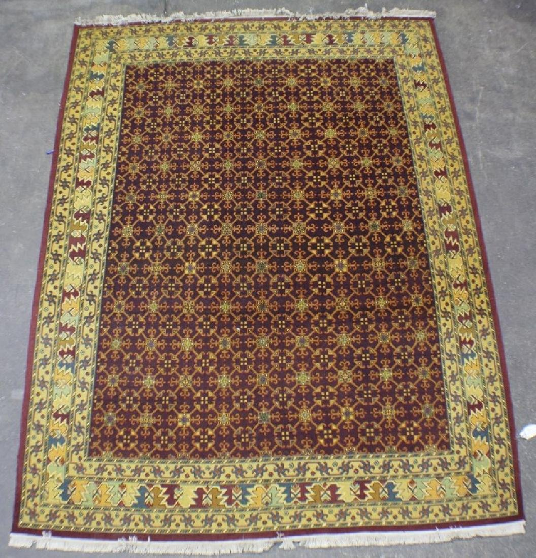 "New Old Stock Soumak Rug 7'10"" x 8'9"""