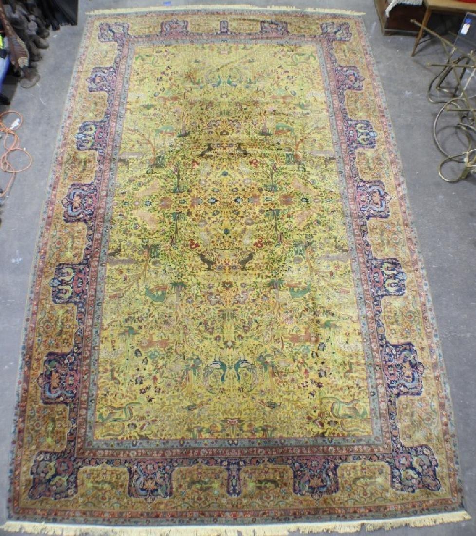 """Semi Antique Agra Rug 11' x 17'8"""""""