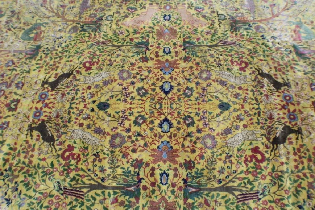 """Semi Antique Agra Rug 11' x 17'8"""" - 2"""