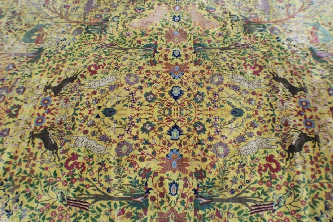 """Semi Antique Agra Rug 11' x 17'8"""" - 3"""