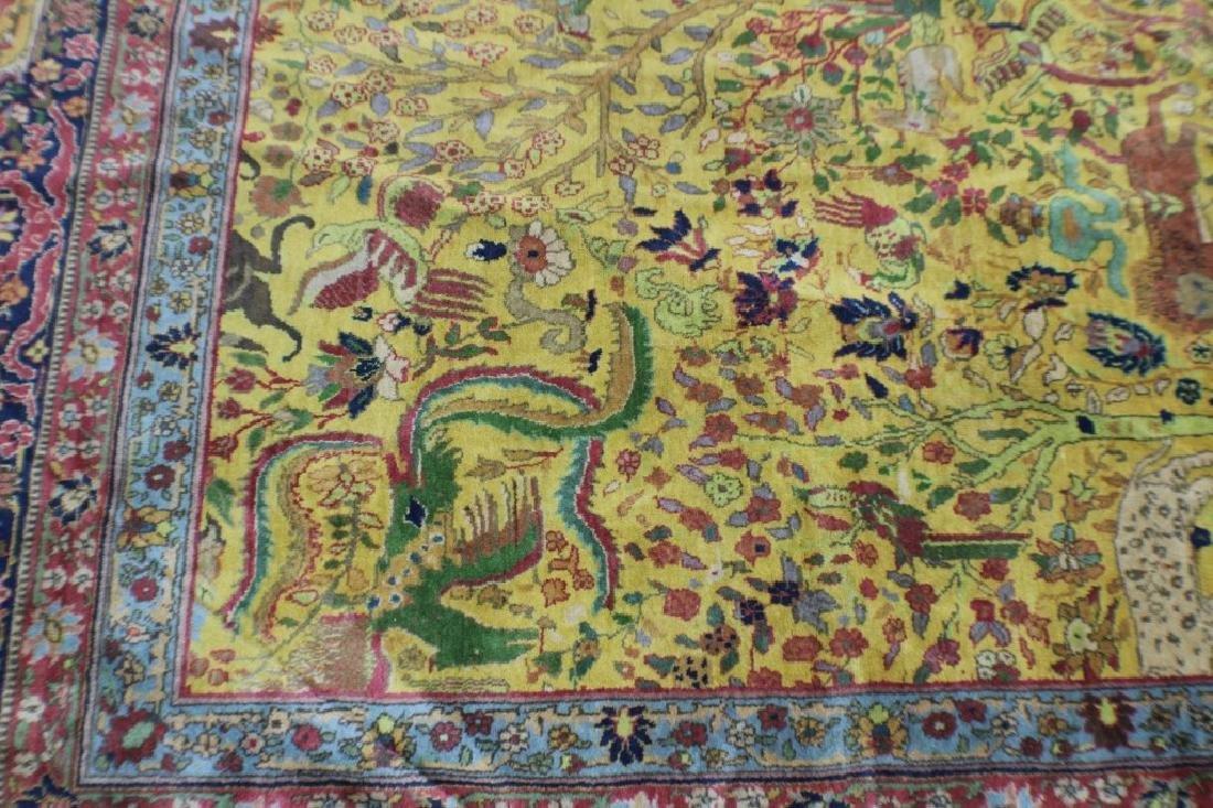 """Semi Antique Agra Rug 11' x 17'8"""" - 4"""