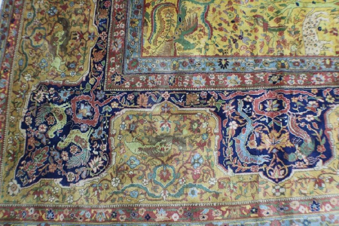 """Semi Antique Agra Rug 11' x 17'8"""" - 5"""