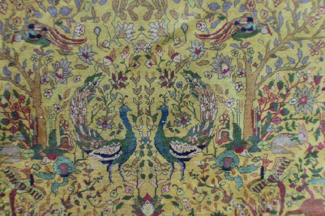 """Semi Antique Agra Rug 11' x 17'8"""" - 6"""