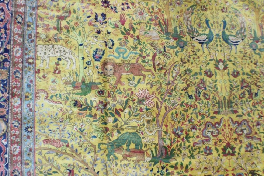"""Semi Antique Agra Rug 11' x 17'8"""" - 7"""