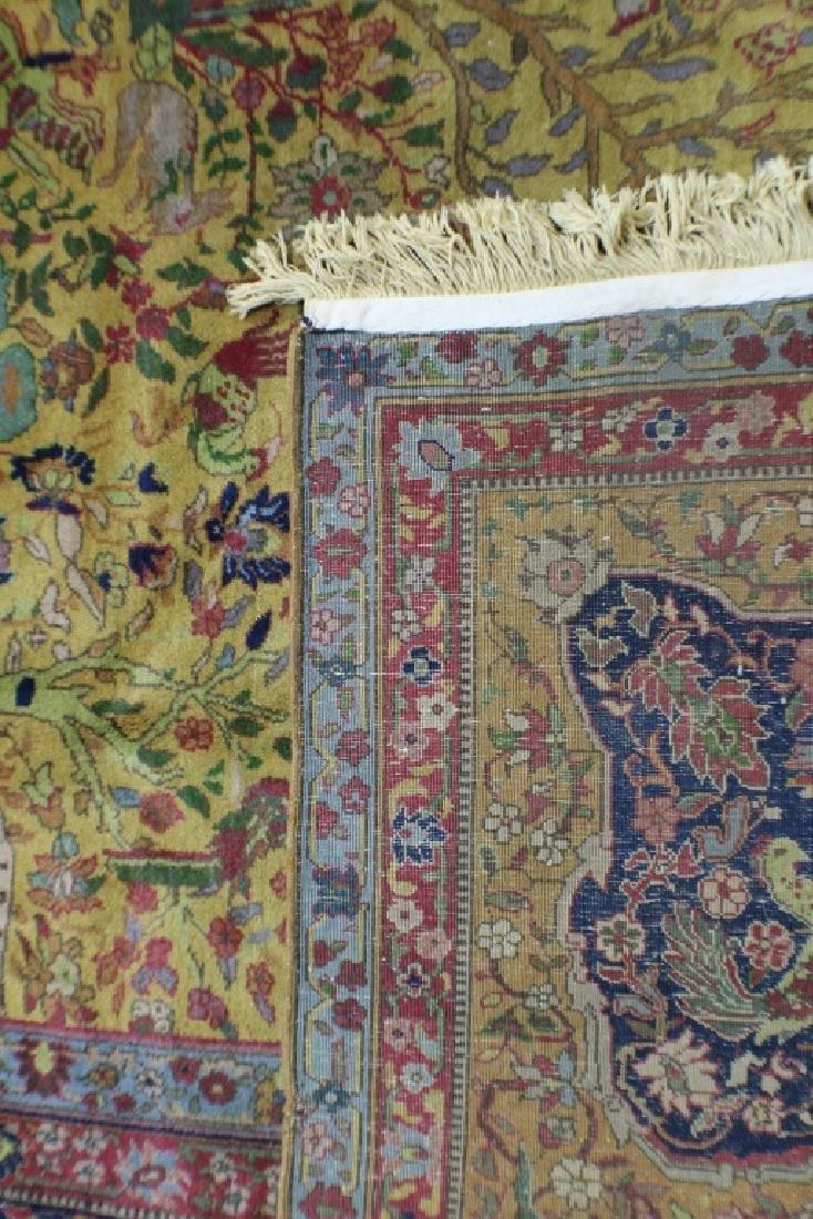 """Semi Antique Agra Rug 11' x 17'8"""" - 8"""