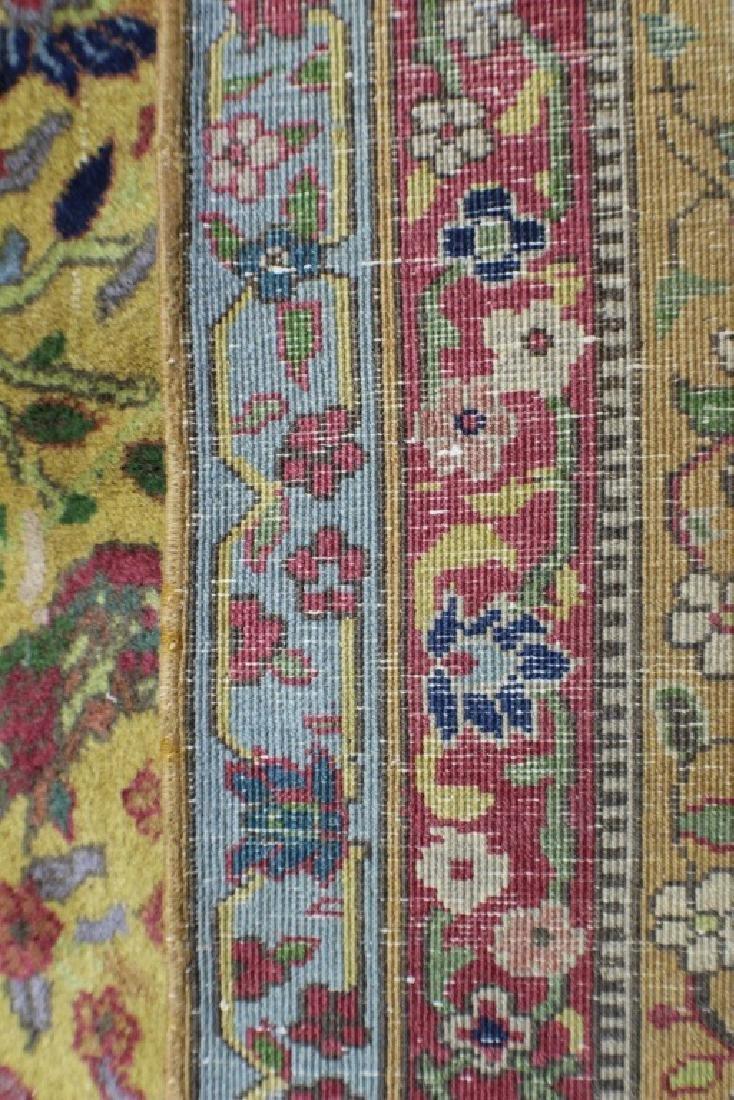 """Semi Antique Agra Rug 11' x 17'8"""" - 9"""