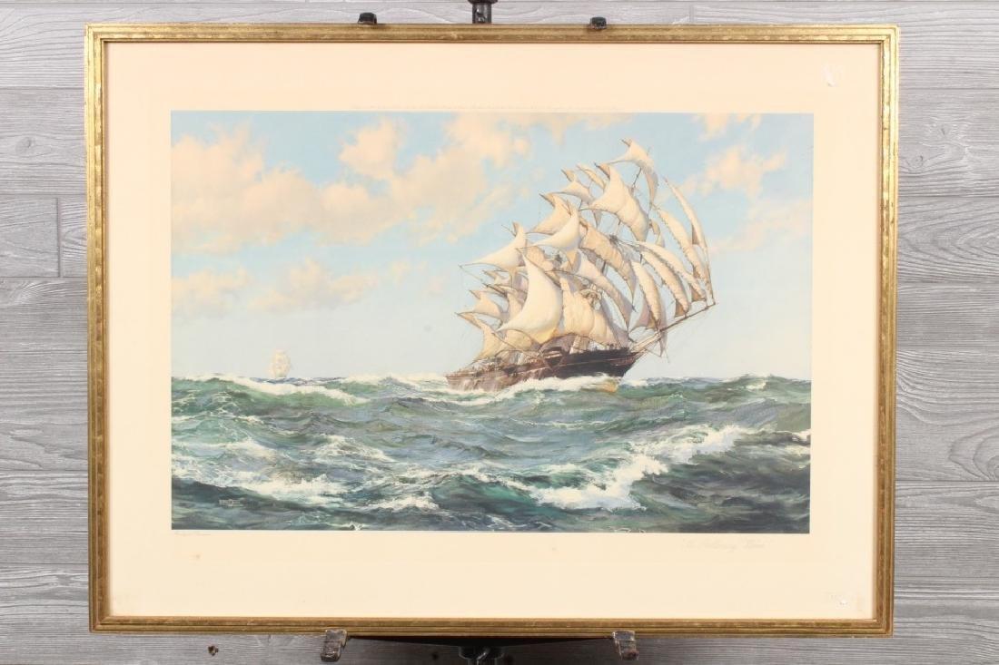 Montague Dawson Nautical Print