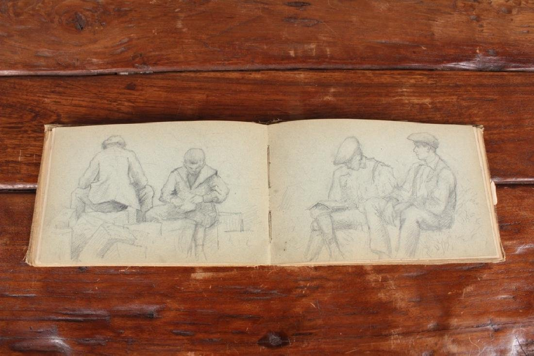 Late 19th C French Academic Sketchbook