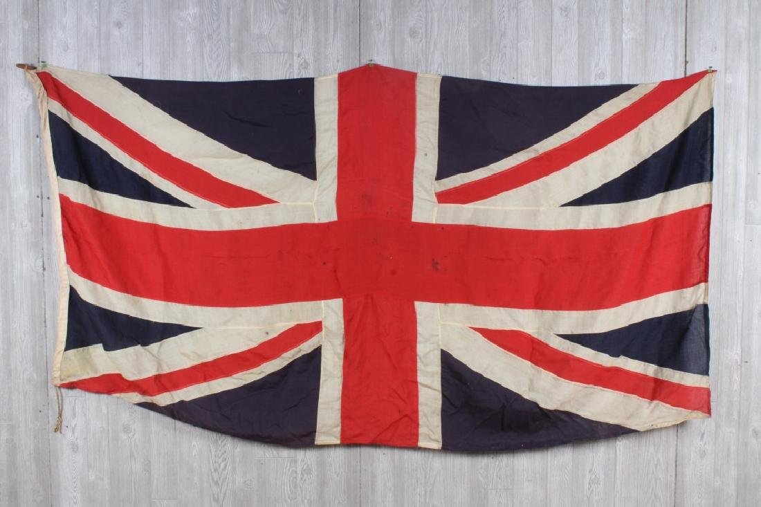 Antique Union Jack British Flag