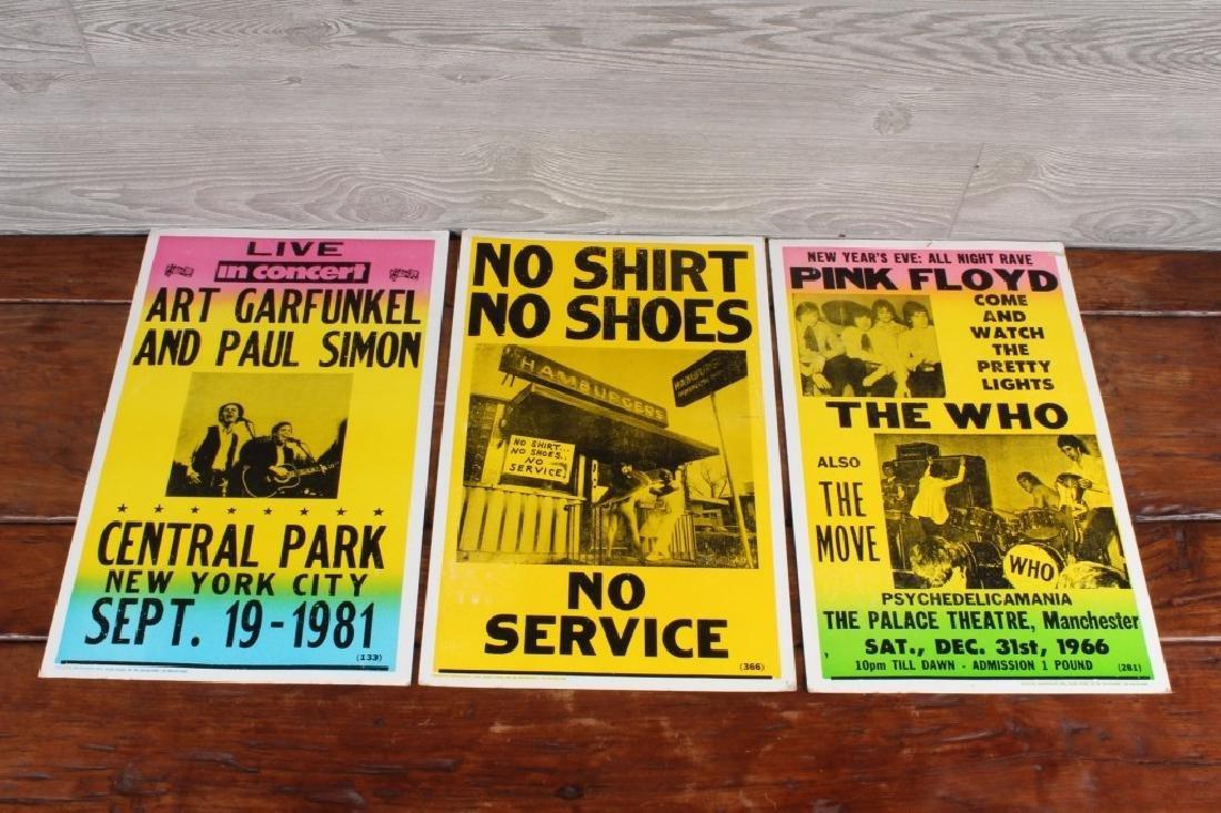3 Tribune Showprint Posters
