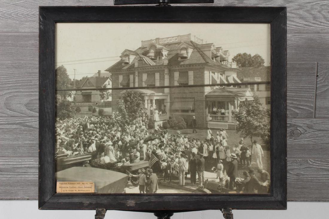 1912 Photograph- President Taft in Woodbury, NJ