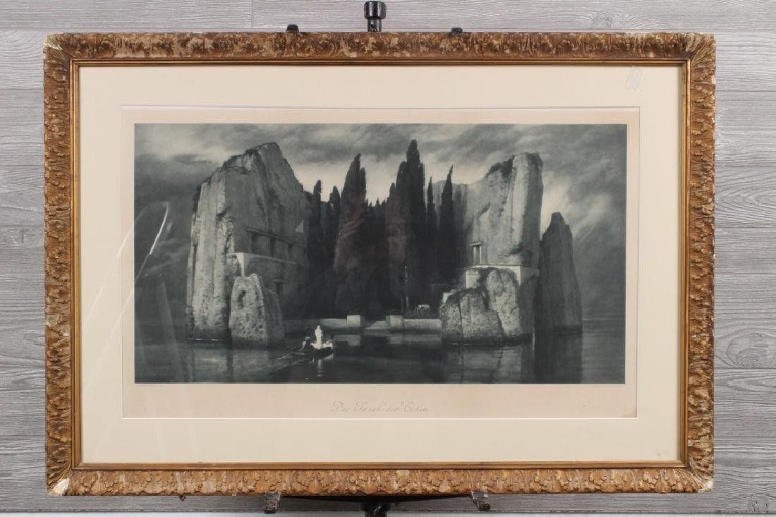 After Arrnold Bocklin, Isle of the Dead Print