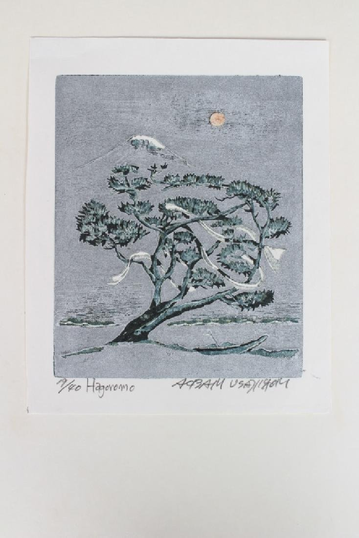 Hagoromo Japanese Woodblock Print