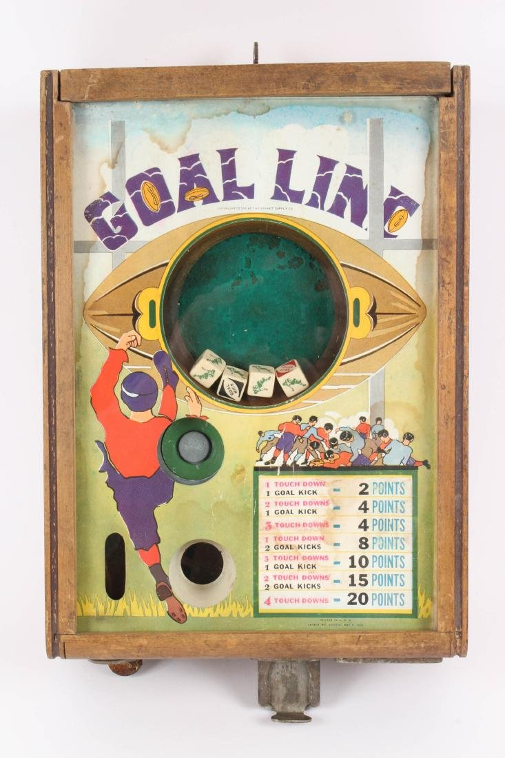 Goal Line Football Dice Game