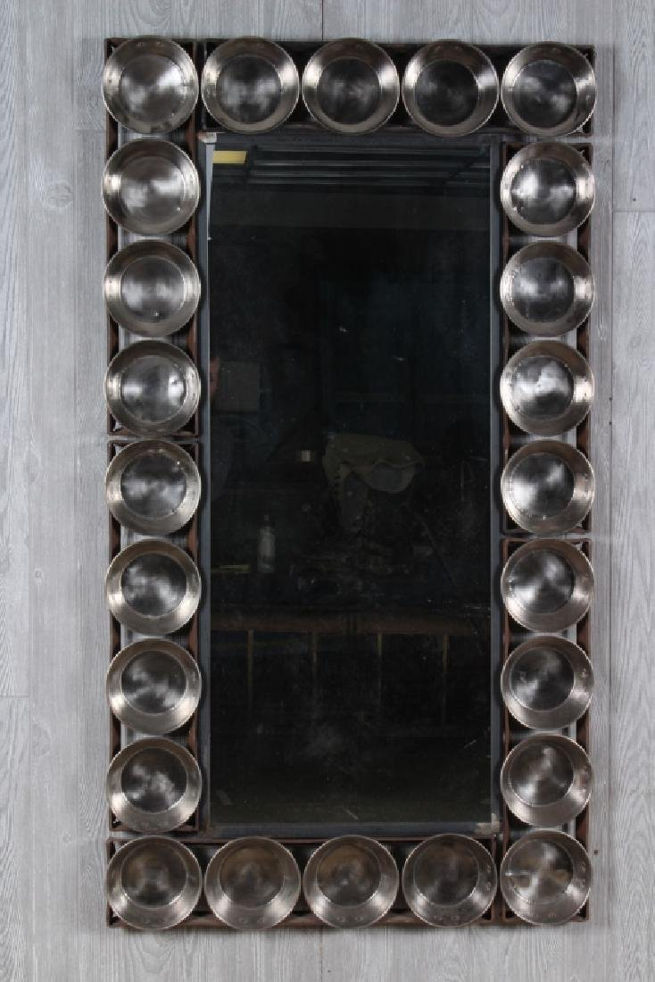 Large Scale Industrial Steel Mirror