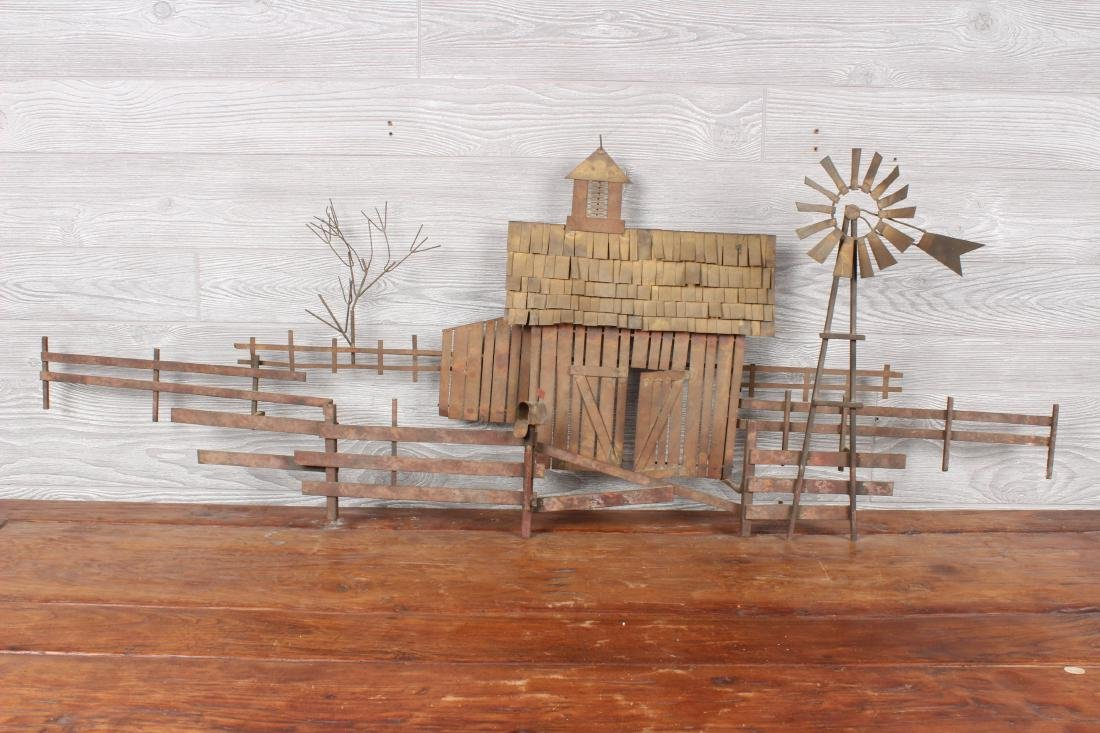 Curtis Jere Homestead Wall Sculpture