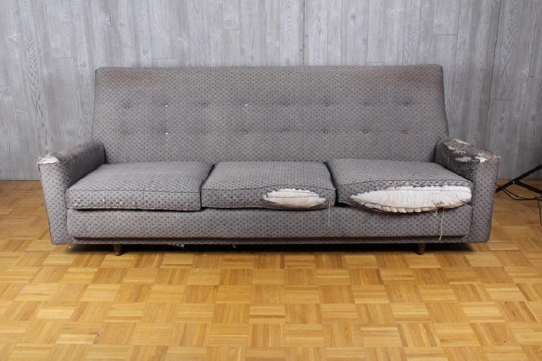 Rare and Early Jens Risom Upholstered Sofa
