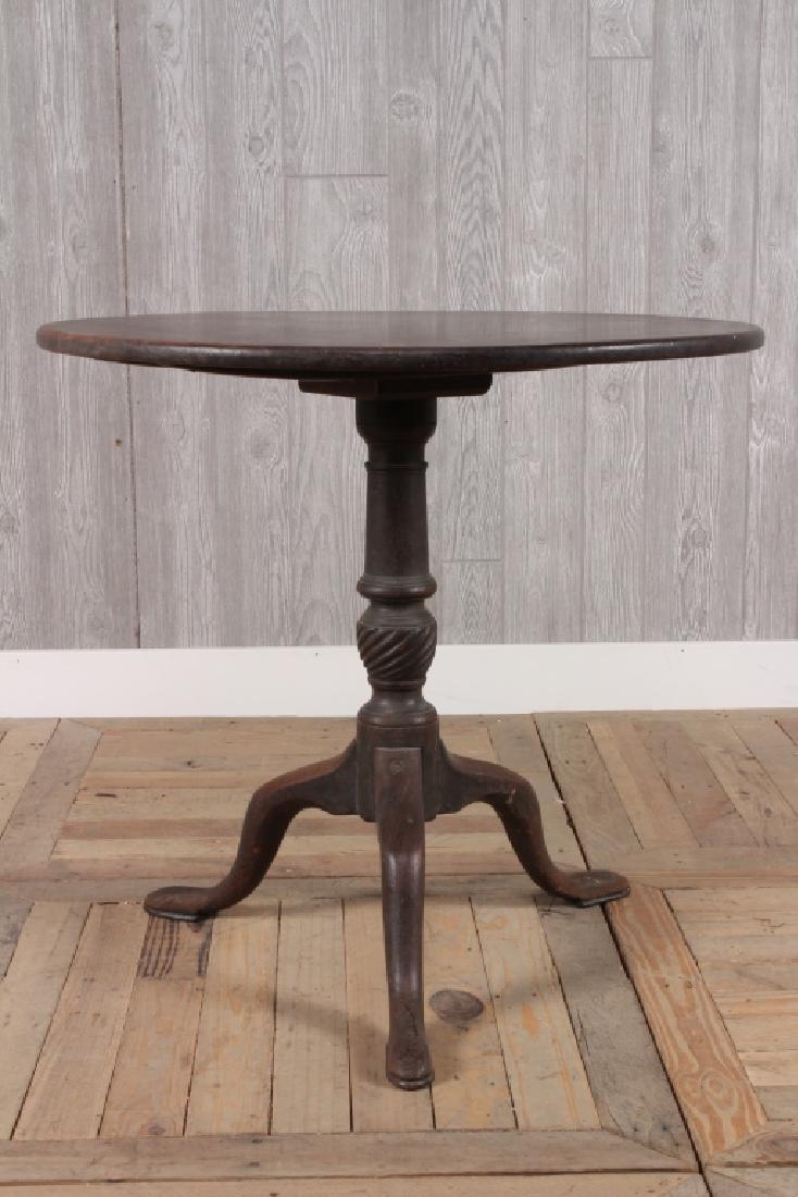 Antique Queen Anne Style Tilt Tea Table