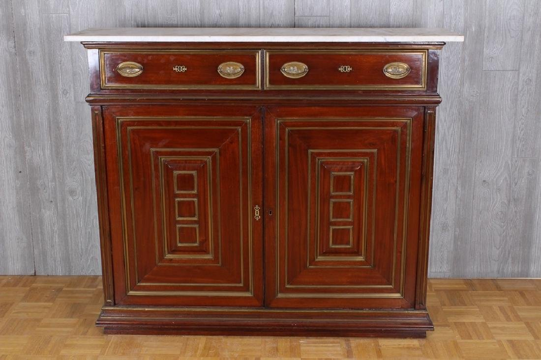 19th C French Directoire Bar Cabinet
