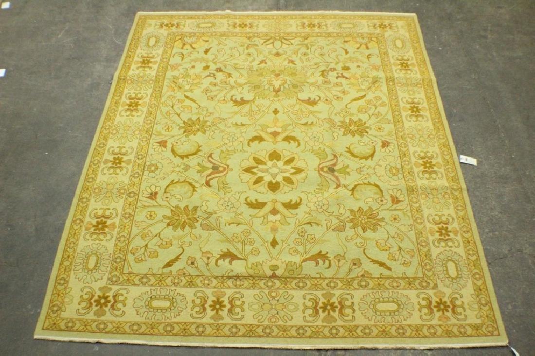 """New Isfahan Style Sumak Rug 8'7"""" x 11'2"""""""