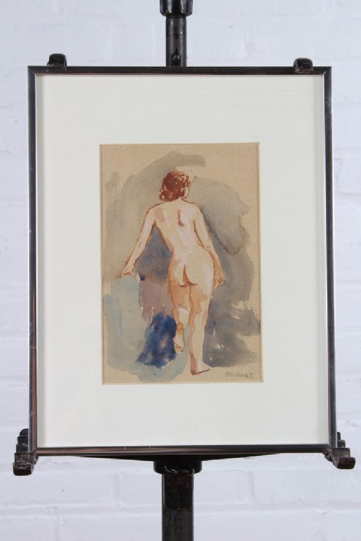 Seymour Remenick (American, 1923-1999) Nude Study