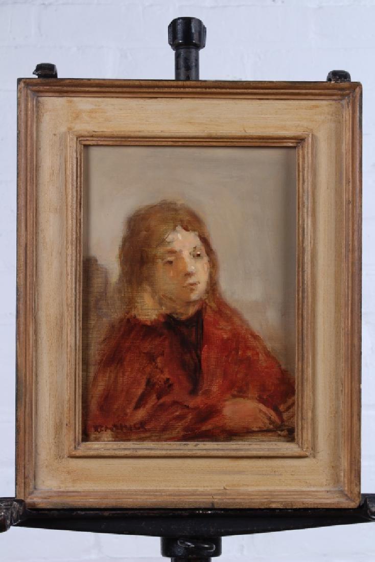 Seymour Remenick (American, 1923-1999) Portrait Pa
