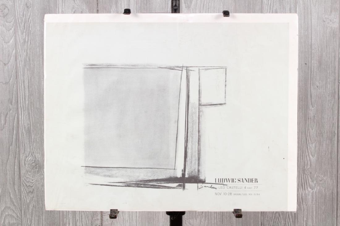 Ludwig Sander Exhibit Poster