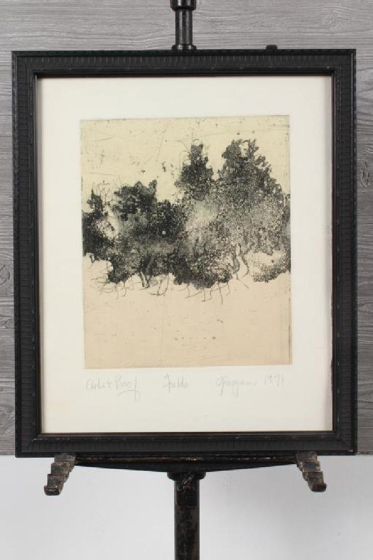 Unknown Artist, 1971 Etching