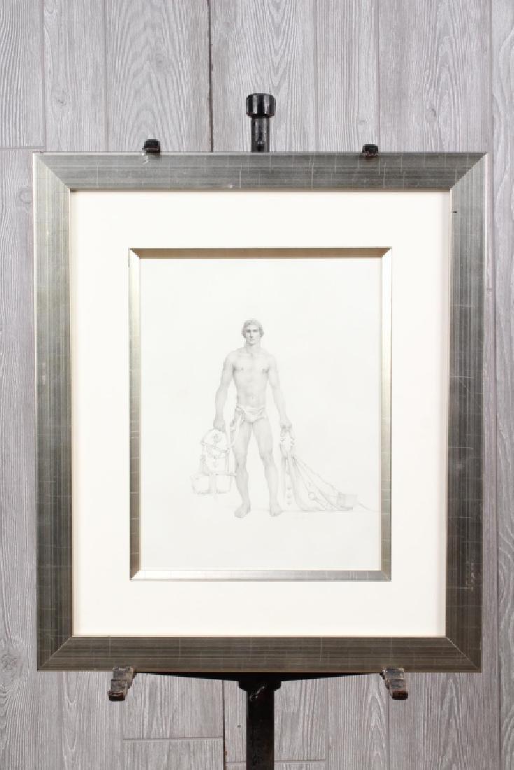 John B Lear (20th C, Pennsylvania) Drawing