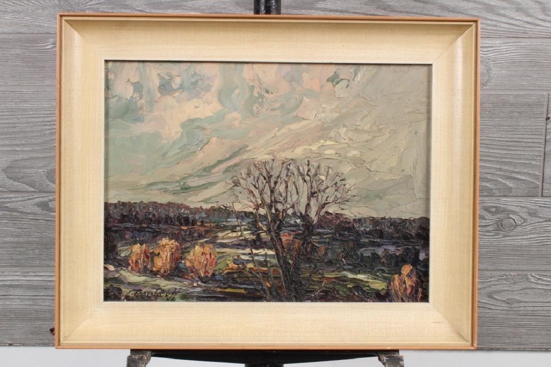 Leonid Gechtoff Landscape Painting