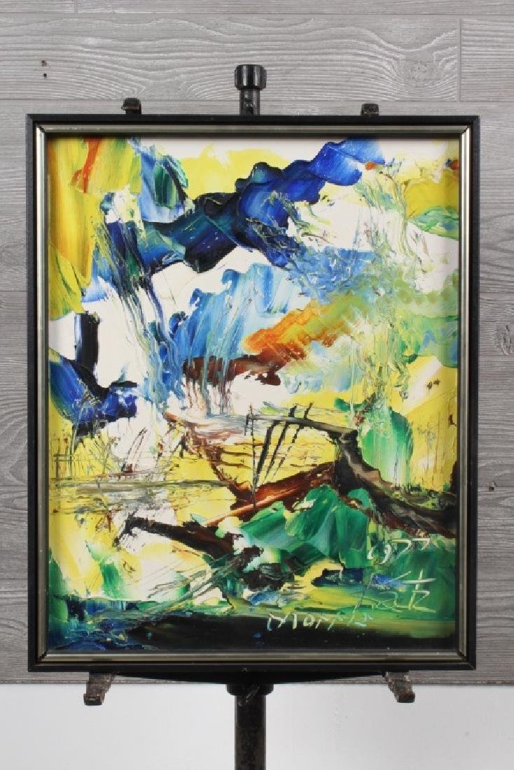 Morris Katz Painting