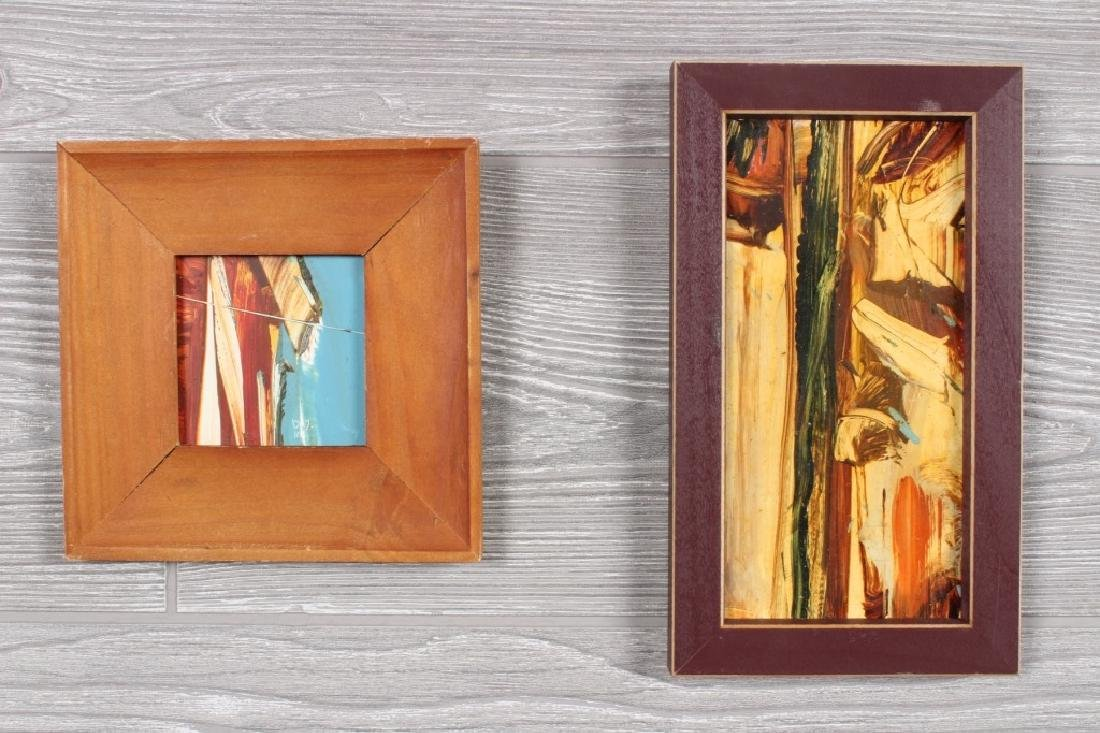 2  Philadelphia Miniature Abstract Works
