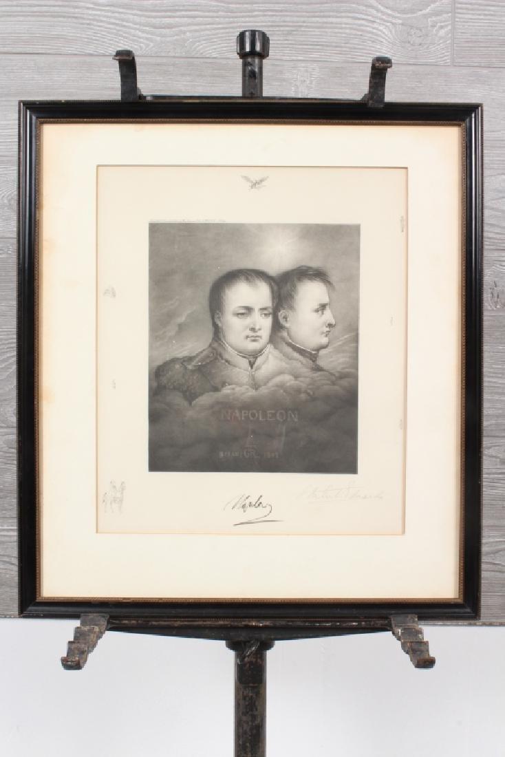 Samuel Arlent Edwards Napoleon Engraving