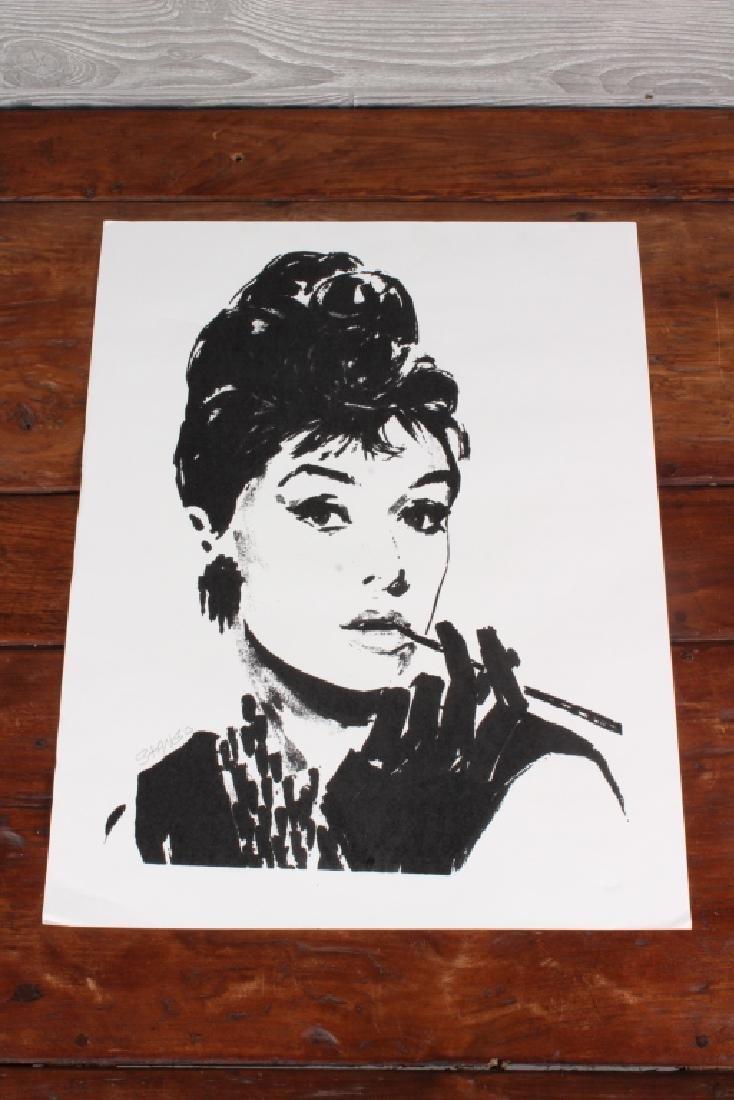 John Stango (Phiadelphia) Hepburn Print