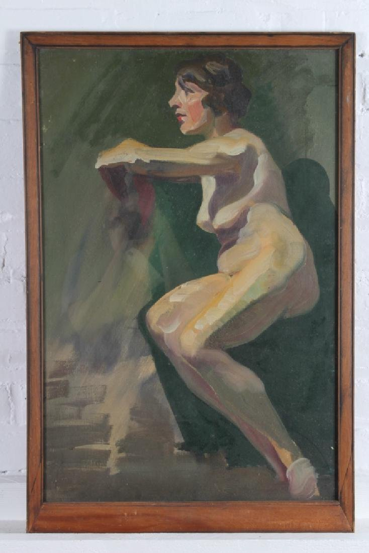 LH Copeland (American, 20th C) Nude