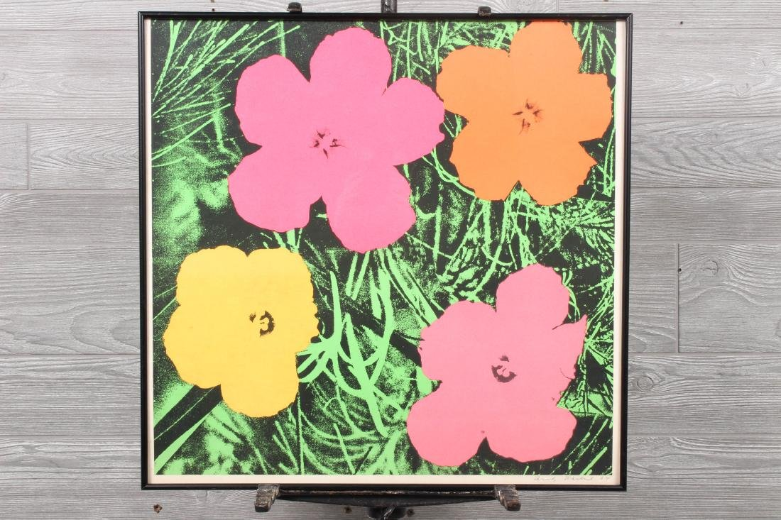 After Andy Warhol Flowers 1964