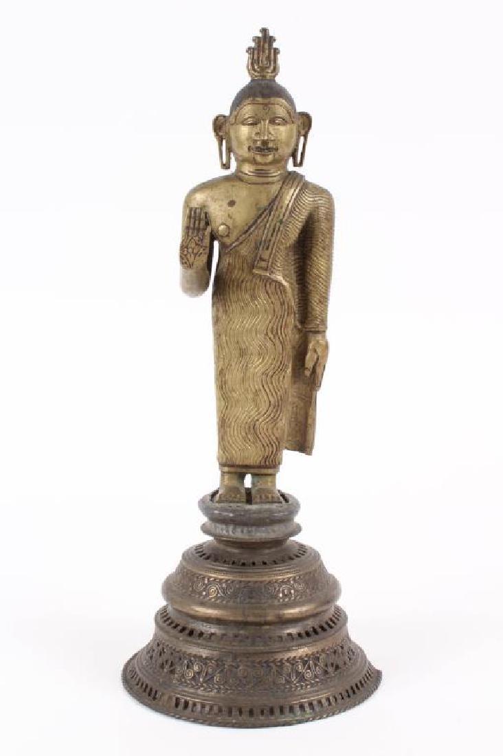Rare Antique Bronze Sri Lanka Buddha