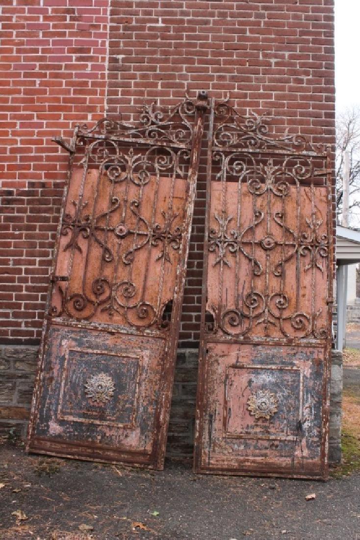 Pair Iron Entry Gates
