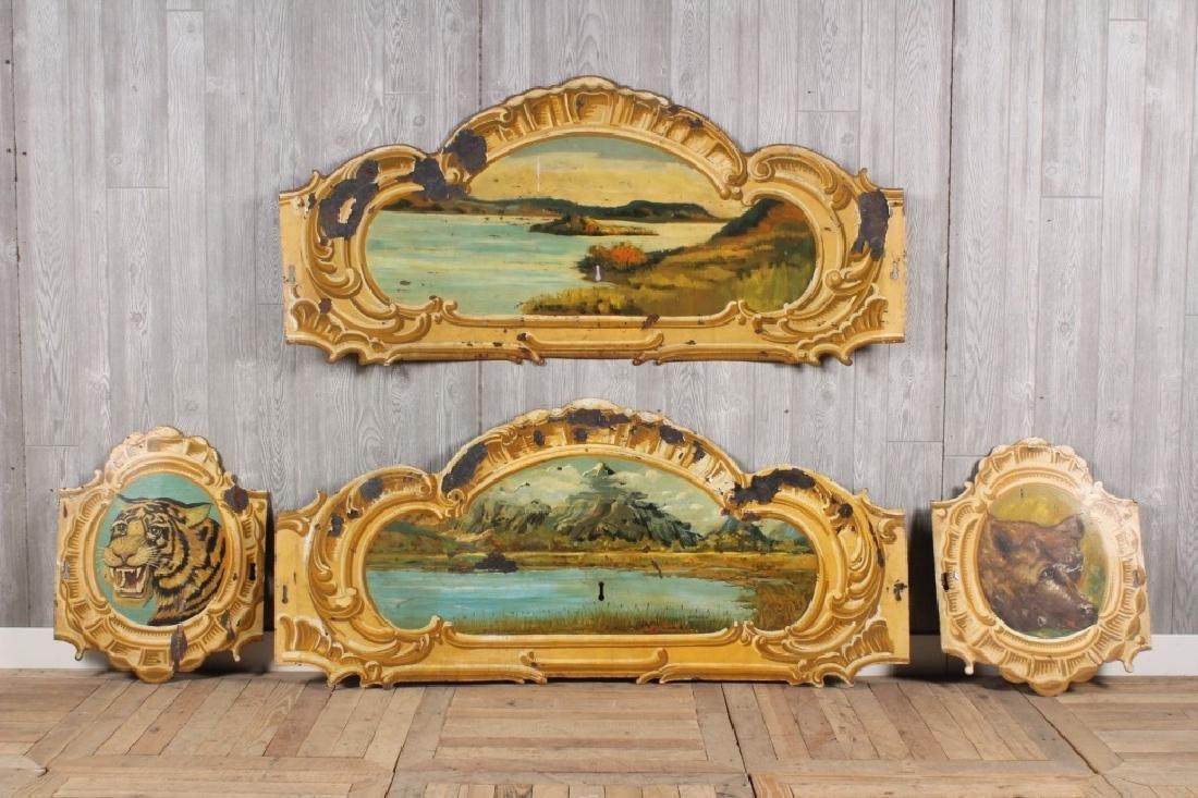 4 Carousel Panels