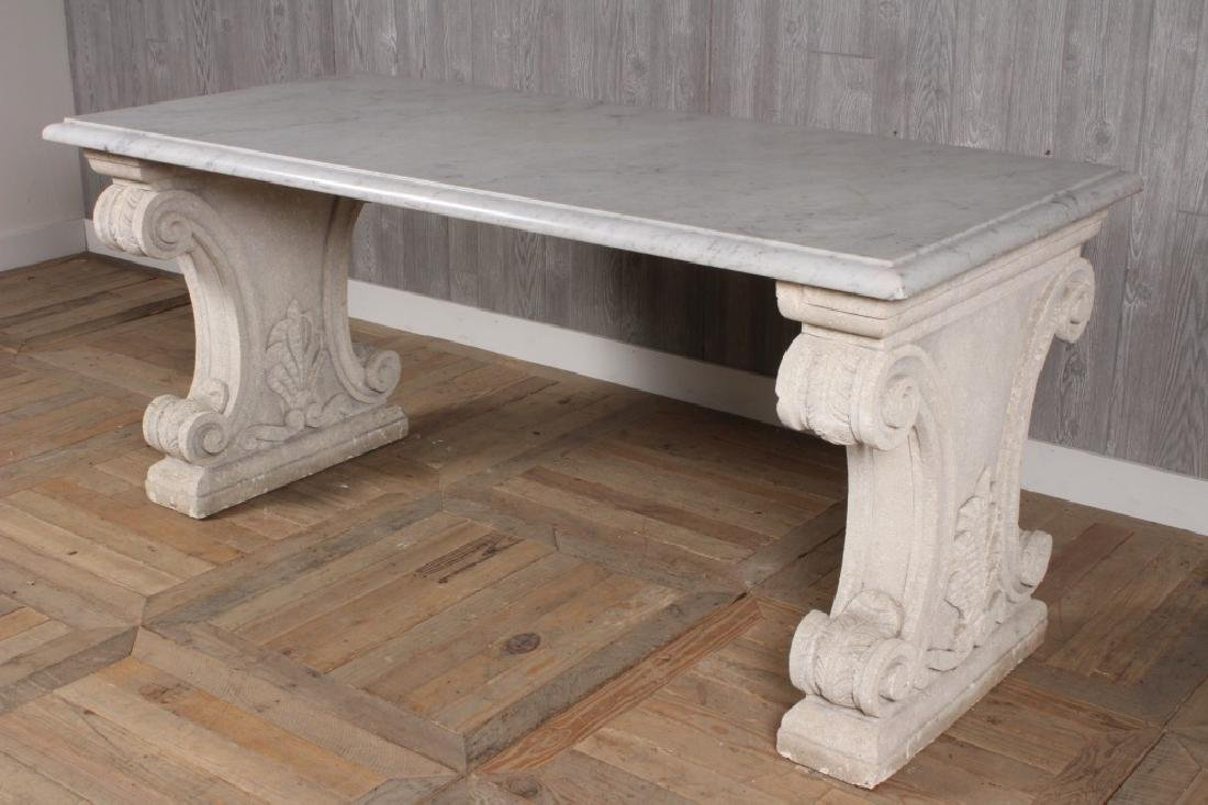 Marble and Stone Table