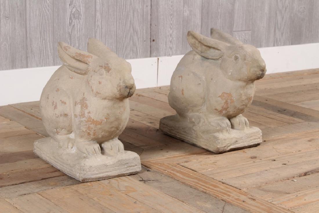 Pair Galloway Rabbits