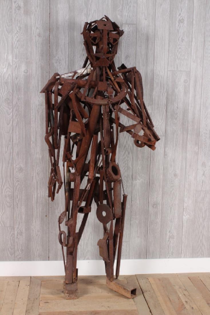Iron Man Found Object Sculpture